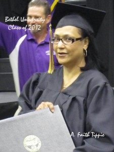Jasmin Tate graduation