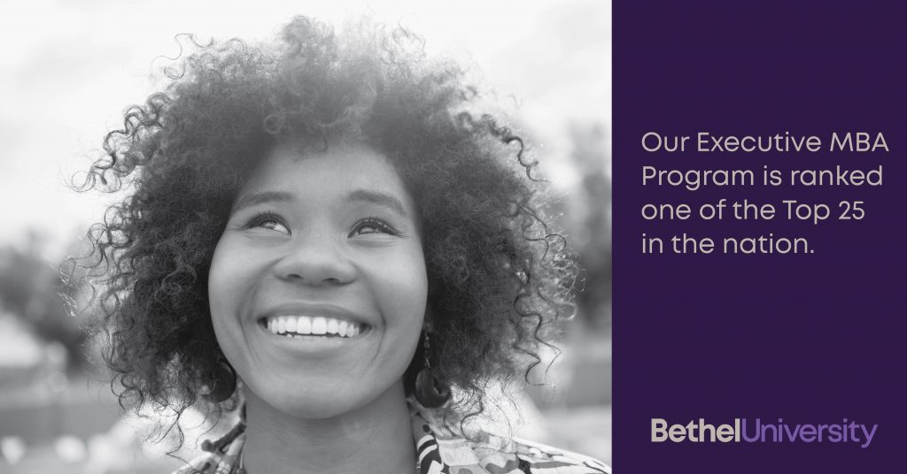 Bethel University Online >> Bethel University S Online Executive Mba Program Named One