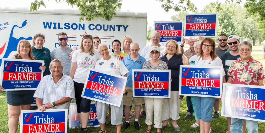 Trisha Farmer campaign photo